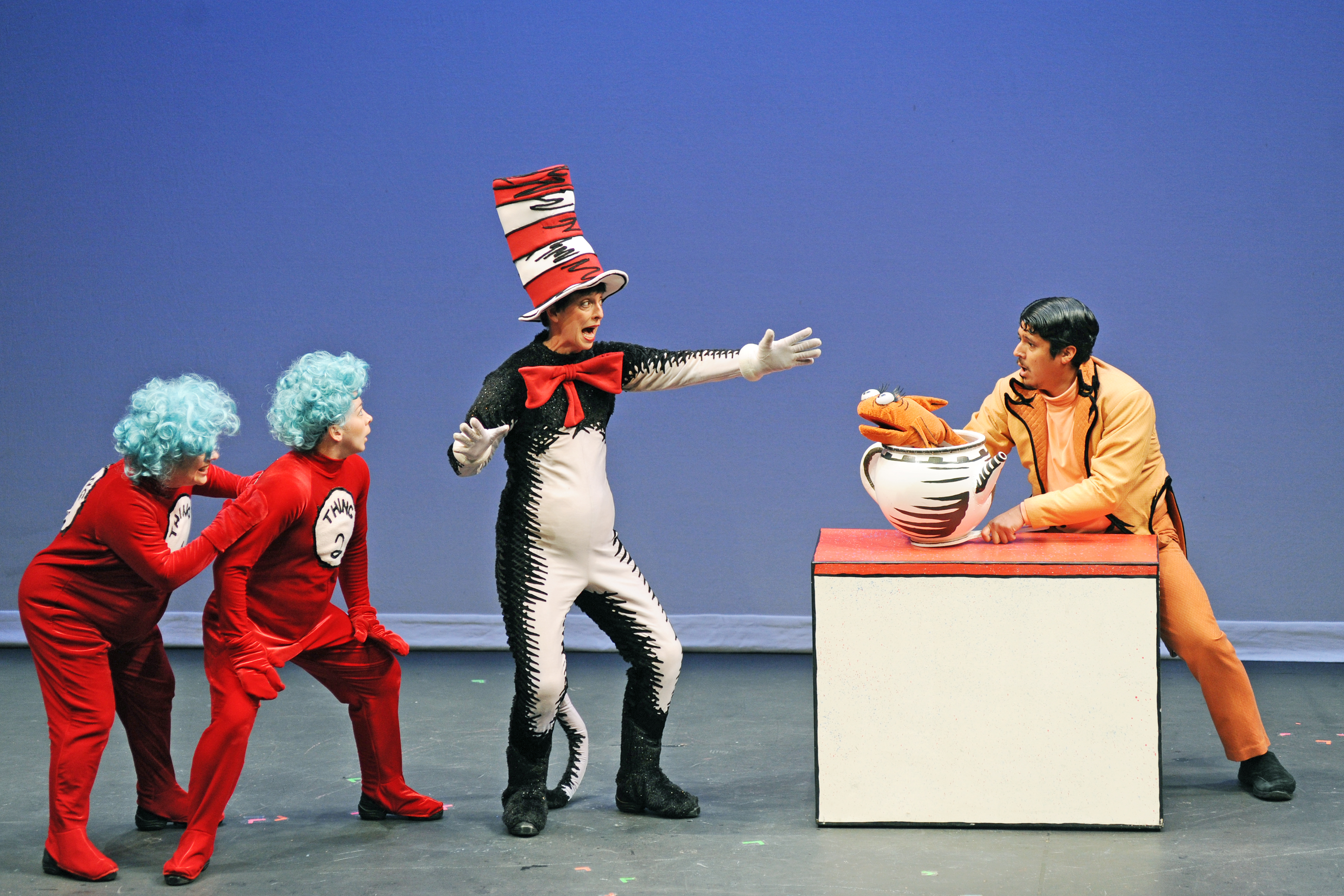 Dr Seuss Characters Costumes Sally The character of the fish was